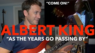 "Albert King Gets FURIOUS With Drummer! ""As The Years Go Passing By"" LIVE REACTION"