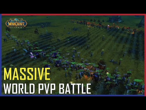 WoW Classic - Massive World PVP Battle