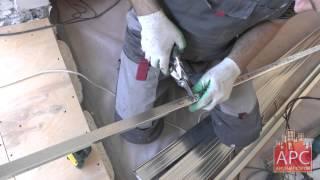 Технология обшивки лоджии П-44 гипсокартоном от АРСеналстрой