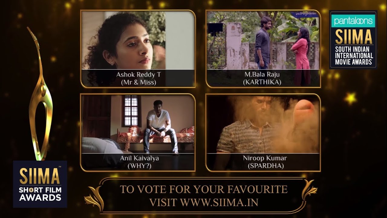 SIIMA Short Film Awards 2019   Best Director Nominees   Telugu by Siima  Official