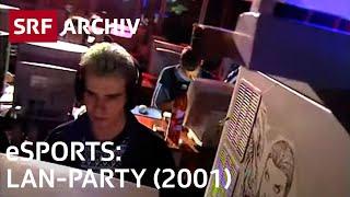 LAN-Party (2001) | Geschichte eSports | SRF Archiv