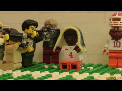 Clemson Tigers New Kings of College Football (Lego) - YouTube