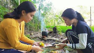 Gadis Dayak    Aktivitas Sehari-hari Gadis Suku Dayak Di Pondok Sawah #2