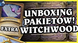 UNBOXING 250 PAKIETÓW WITCHWOOD + BONUS!! - Hearthstone Extra