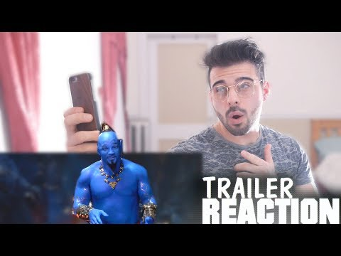 Disney's Aladdin - Special Look Trailer Reaction And Review