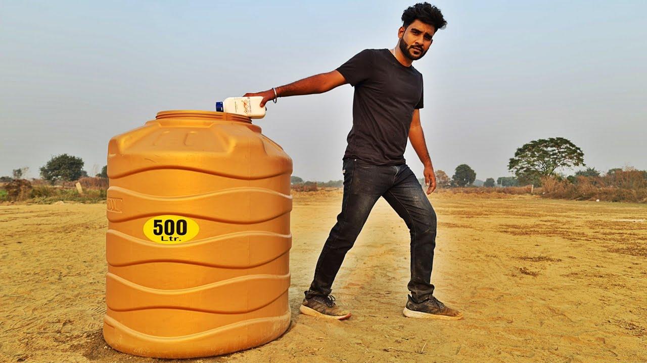 Download 500 ltr WATER TANK VS SODIUM METAL