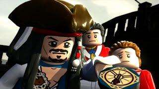 LEGO Pirates of the Caribbean Walkthrough Part 4 - Smuggler