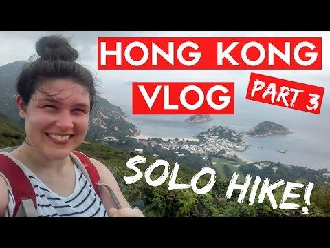 HONG KONG PART 3! A Hike, A Beach & A Party in the Street!