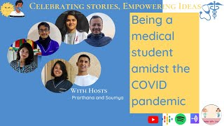 Being a Medical Student amidst the COVID Pandemic    Behind White Coats
