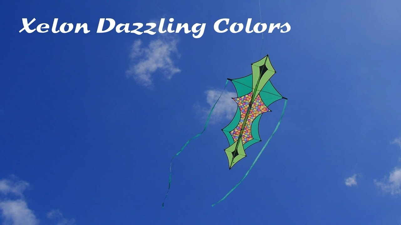Xelon Dazzling Colors   A Great Kite