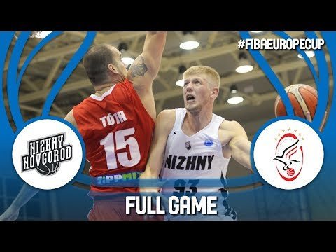 LIVE🔴 - Nizhny Novgorod (RUS) v Szolnoki Olaj (HUN) - FIBA Europe Cup 2017-18