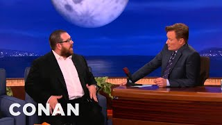 Nick Frost Loves Being A Big Gay Icon