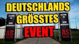 Deutschlands GRÖSSTES AIRSOFT Event Dark Emergency Dokumentation