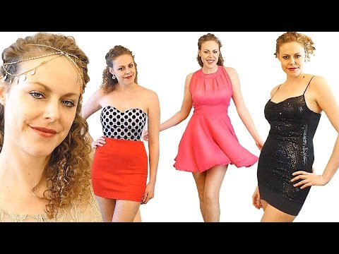 asmr-dress-up-fashion-show-haul-6-cheap-dresses-by-dresslily.com-whisper-ear-to-ear-binaural