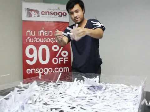 Ensogo ประกาศผลผู้โชคดี Asian Week