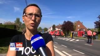 crash des pompier de wavre