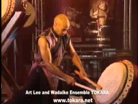Japanese Drummers Miyake - Art Lee and Wadaiko Ensemble TOKARA