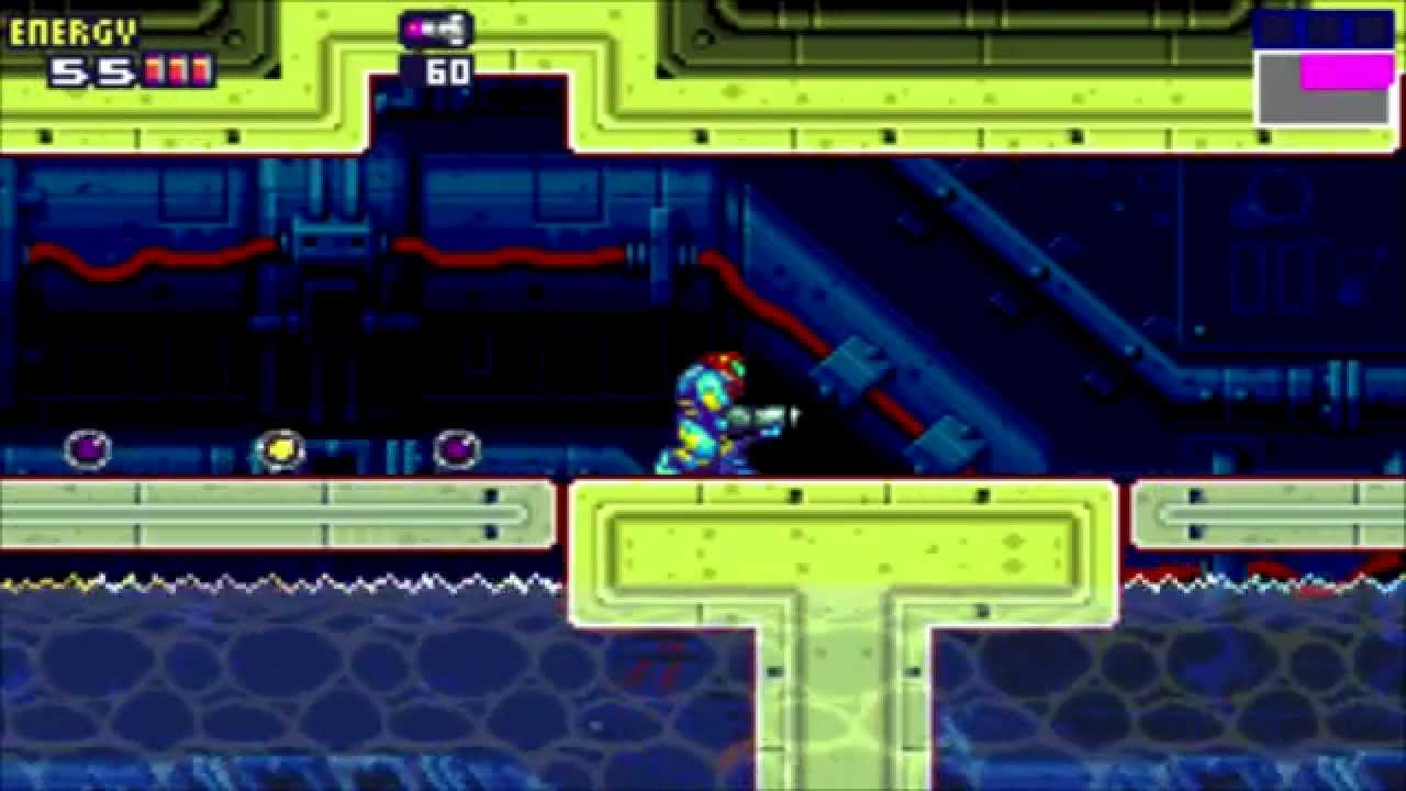metroid fusion sector 4 how to get to serris