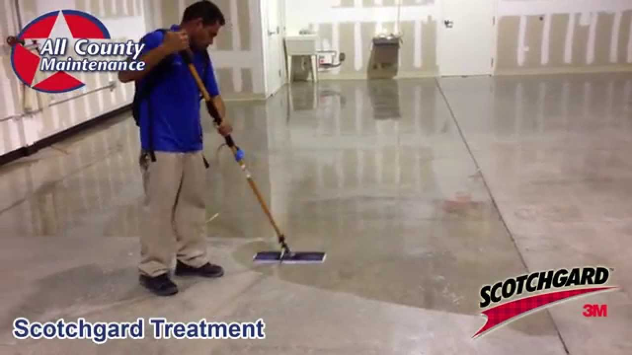 Concrete polishing fort lauderdale garage floor for Polished concrete cleaning products
