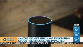Amazon's Alexa records private conversation, then shares it