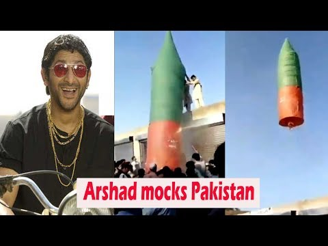 Arshad Warsi mocks Pakistan with this hilarious video