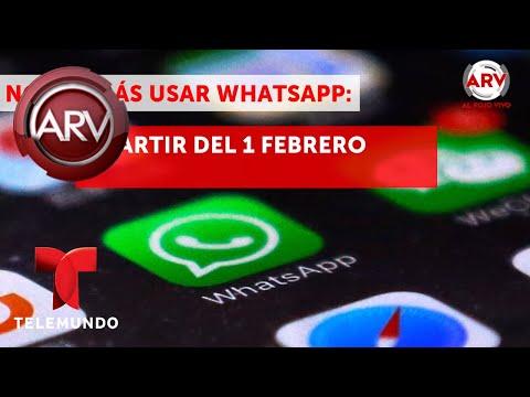 WhatsApp dejará de funcionar en estos celulares en 2018
