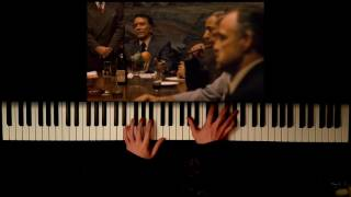 The Godfather - Love Theme (Piano Cover + SHEET MUSIC)