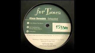 Klaus Benedek - Exhausted EP