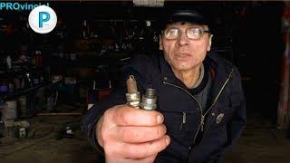 видео Как по состоянию свечи выявить неполадки в двигателе