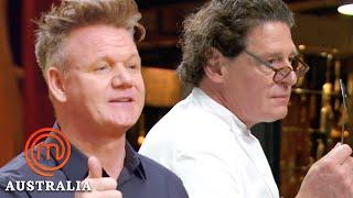Best Moments of Celebrity Guest Chefs!  MasterChef Australia  MasterChef World