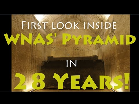Inside WNAS (unas) pyramid - recently reopened after 28 years. Pukajay Productions