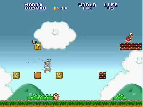 Open Source Mario Engines for Game Maker