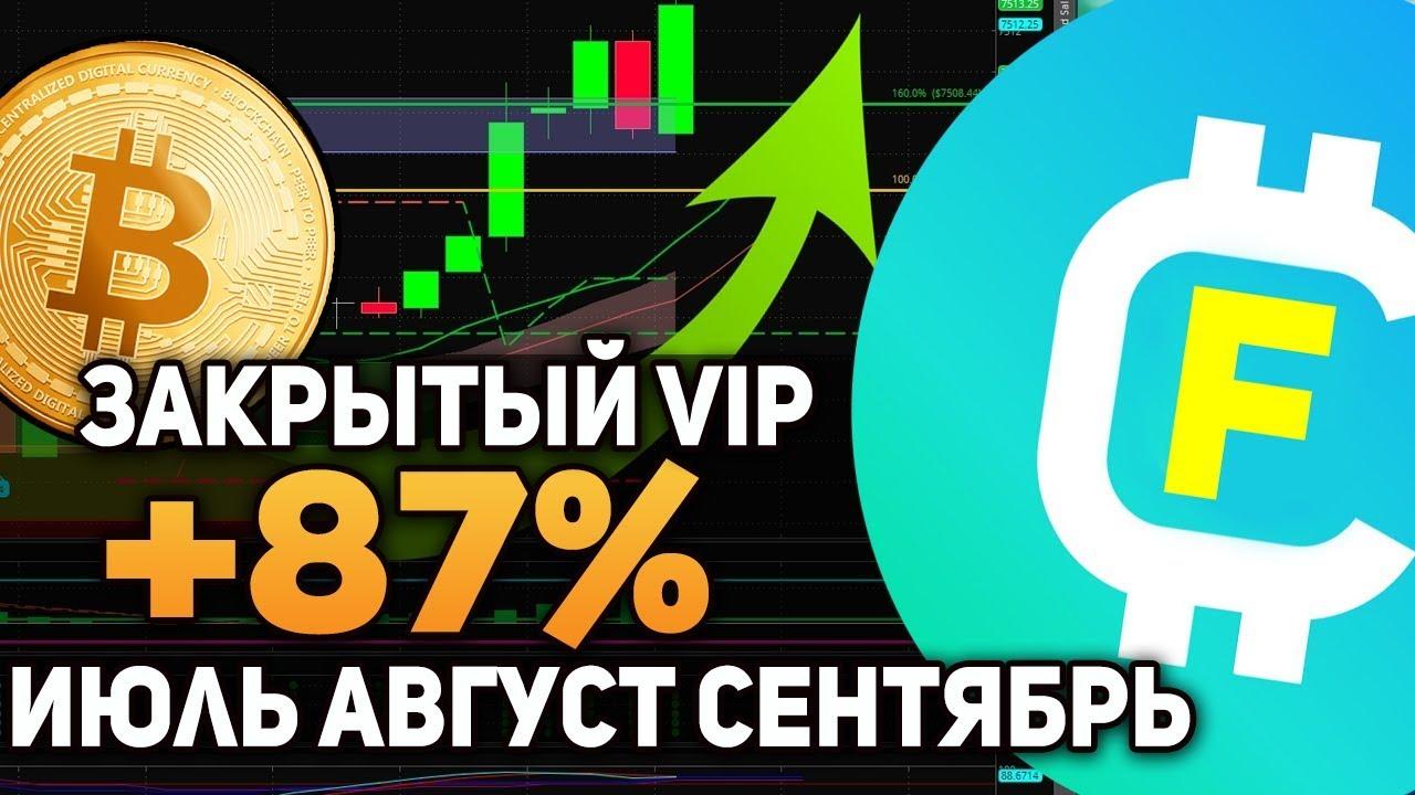 Как Сделать Профит +87% на Медвежьем Рынке Криптовалюта в 2019 Отсчет за Июль Август и Сентябрь VIP