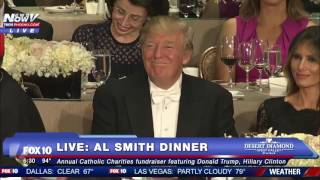 FULL: Hillary Clinton Roasts Donald Trump At 2016 Al Smith Dinner - FNN