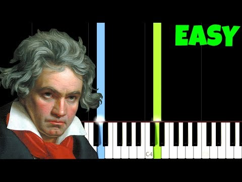 HOW TO PLAY Für Elise for Beginners [Easy Piano Tutorial] (Synthesia)