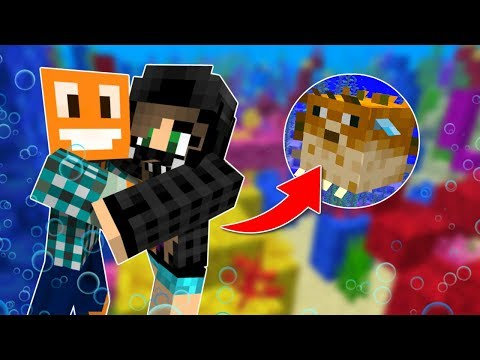 """Minecraft AQUA #8 - """"Rafa koralowa!"""" w/ Akiri"""