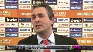 Mexico coach Sergio VALDEOMILLOS Final Draw reaction
