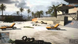 Battlefield 4 Played With Lowest Settings (PC)