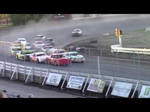 Nodak Speedway IMCA Stock Car A-Main (7/4/16)