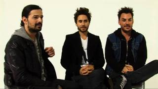 30 Seconds To Mars/Jared Leto - full interview, This Is War!