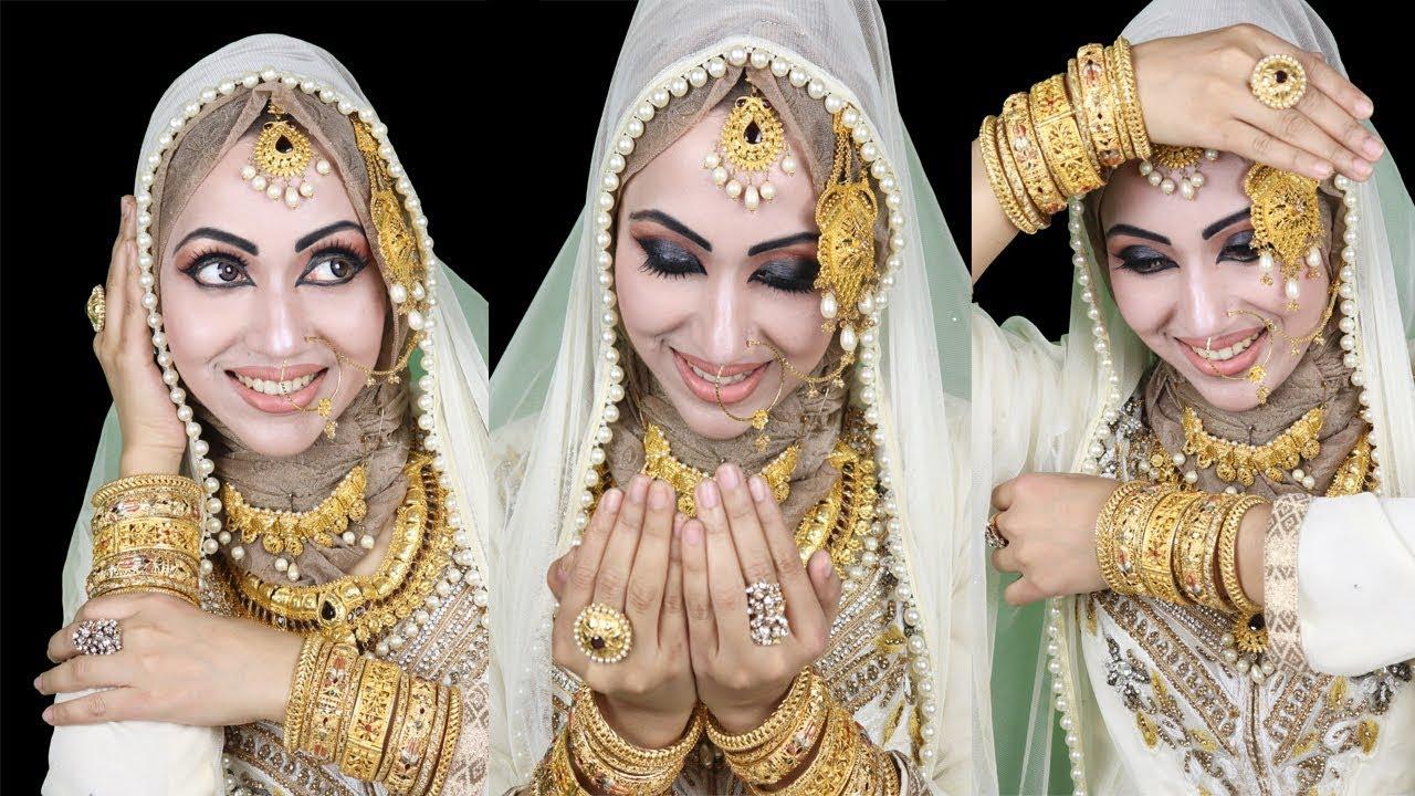 Bridal hijab tutorial,pakistani hijab,pakistani hijab tutorial.