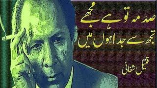 Sadma to Hai Mujhe || Qateel Shafai Sad Poetry || Alfaaz-e-Ishq