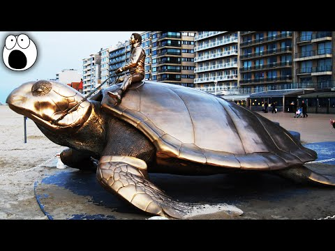 20 Most CREATIVE public sculptures in the world