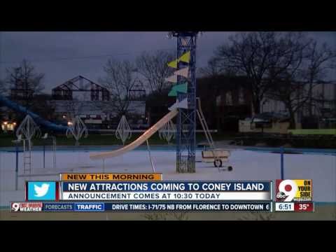 New attractions coming to Coney Island