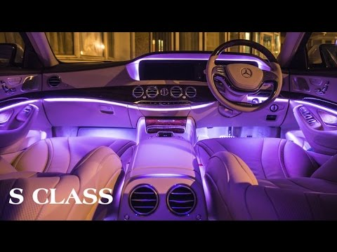 Mercedes s class interior lights for Mercedes benz intelligent light system c class