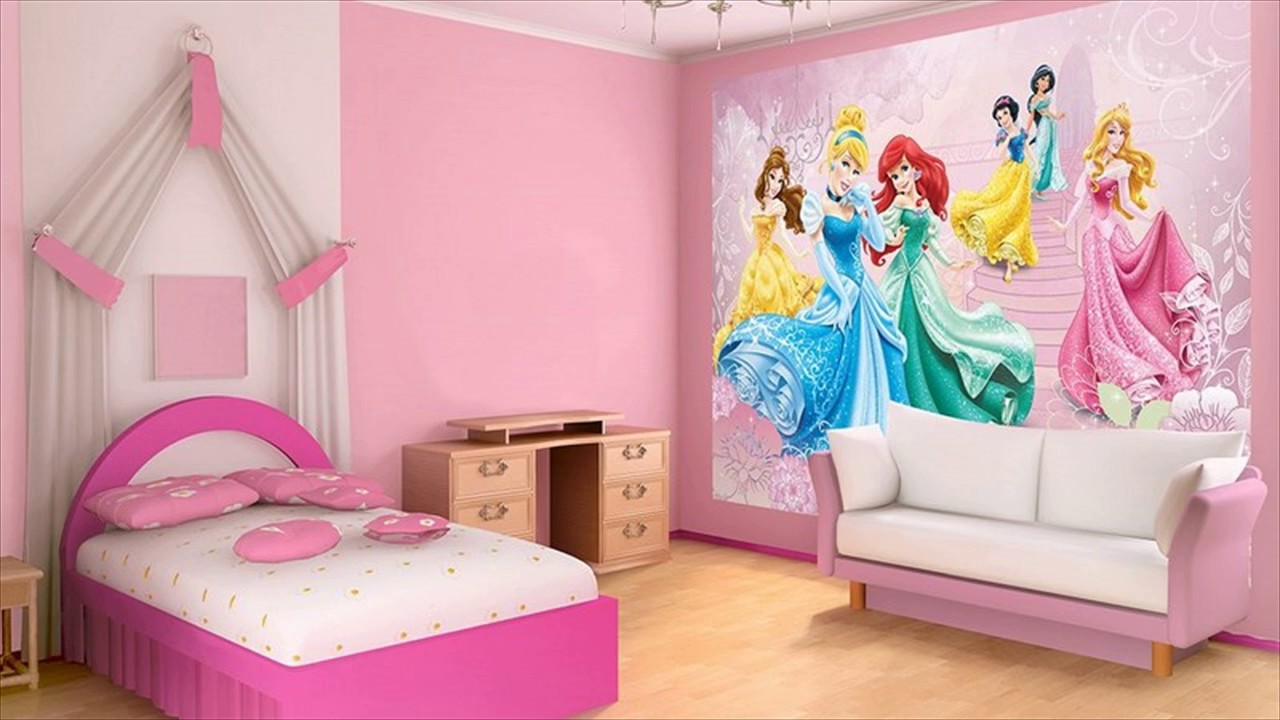 Girls Princess Room Decorating Ideas - YouTube