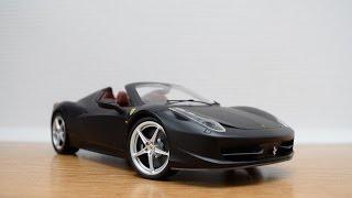 HotWheels Elite Ferrari 458 Italia Spider 1/18 - Review