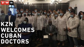 The KwaZulu-Natal provincial government welcomed 28 Cuban doctors on Thursday. They are part of the 217 health professionals deployed by the Cuban government to assist South Africa in the fight against COVID-19.  #CoronavirusSA #Healthcare #Cuba