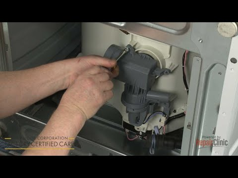 Drain Pump - Whirlpool Washer Model #WFW85HEFW0