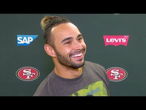 Dante Pettis: It's 'Really Cool' Being Coached By Wes Welker